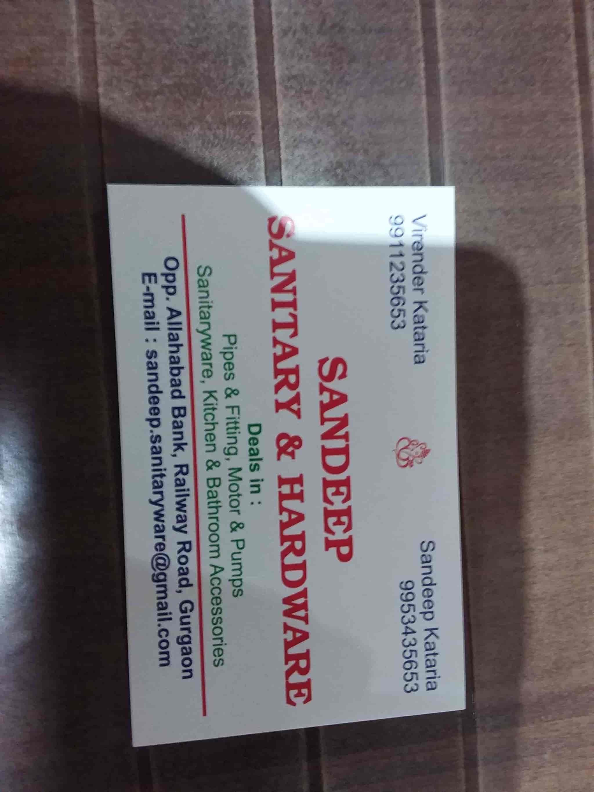 Sandeep Sanitary And Hardware, New Railway Road - S&eep Sanitary ...