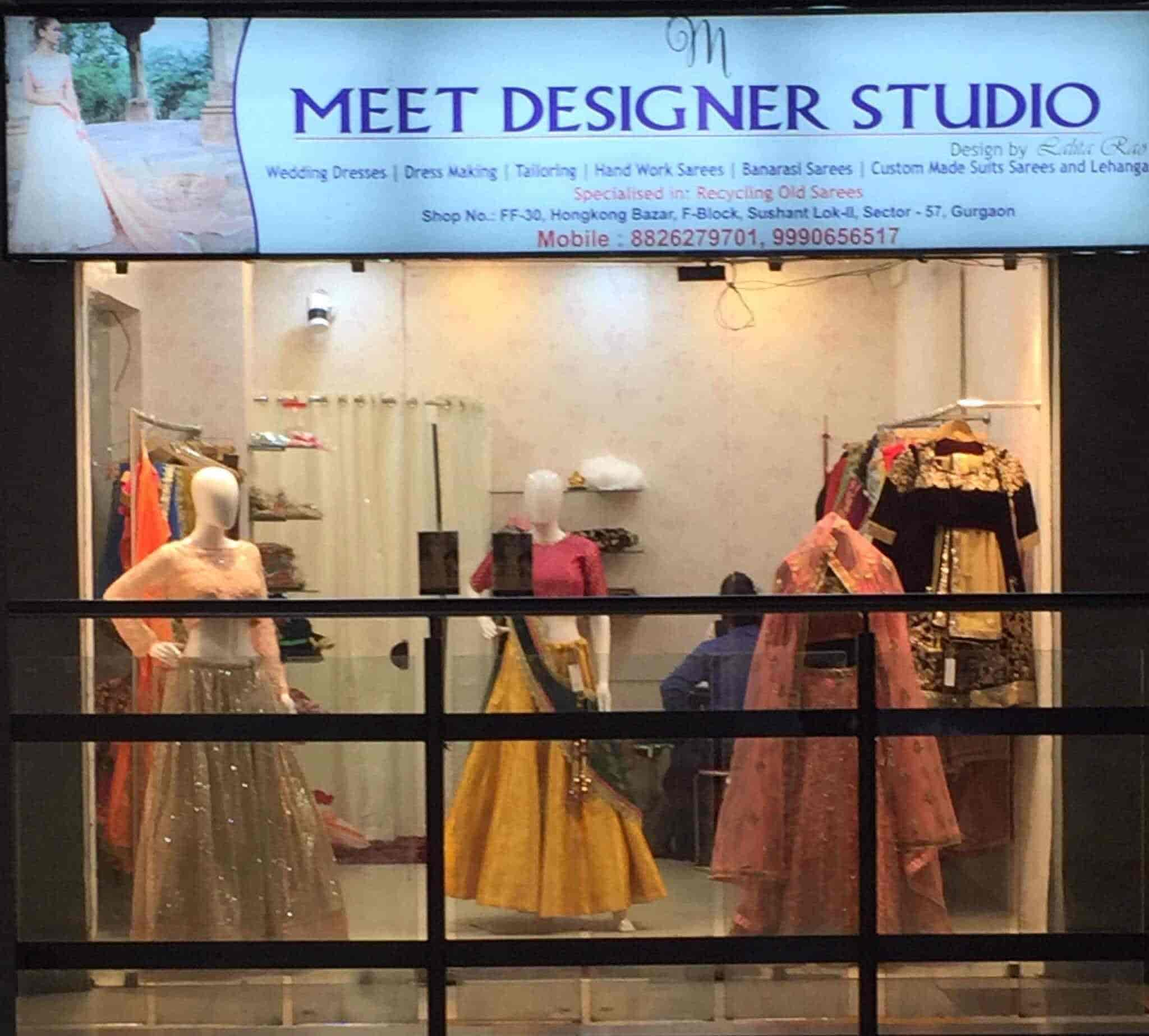 Meet Designer Studio Hong Kong Bazar Gurgaon Sector 57 Boutiques In Gurgaon Delhi Justdial