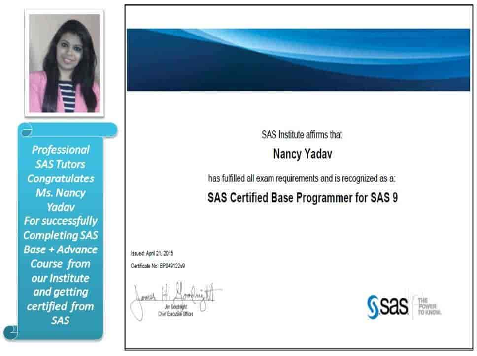 PST Analytilist, DLF - SAS Training Institutes in Delhi - Justdial