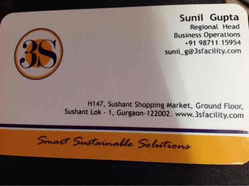 3S integrated facility management Pvt Ltd , Sushant Lok