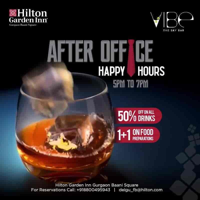 Vibe The Sky Bar (Hilton Garden Inn) Photos, Gurgaon Sector 50
