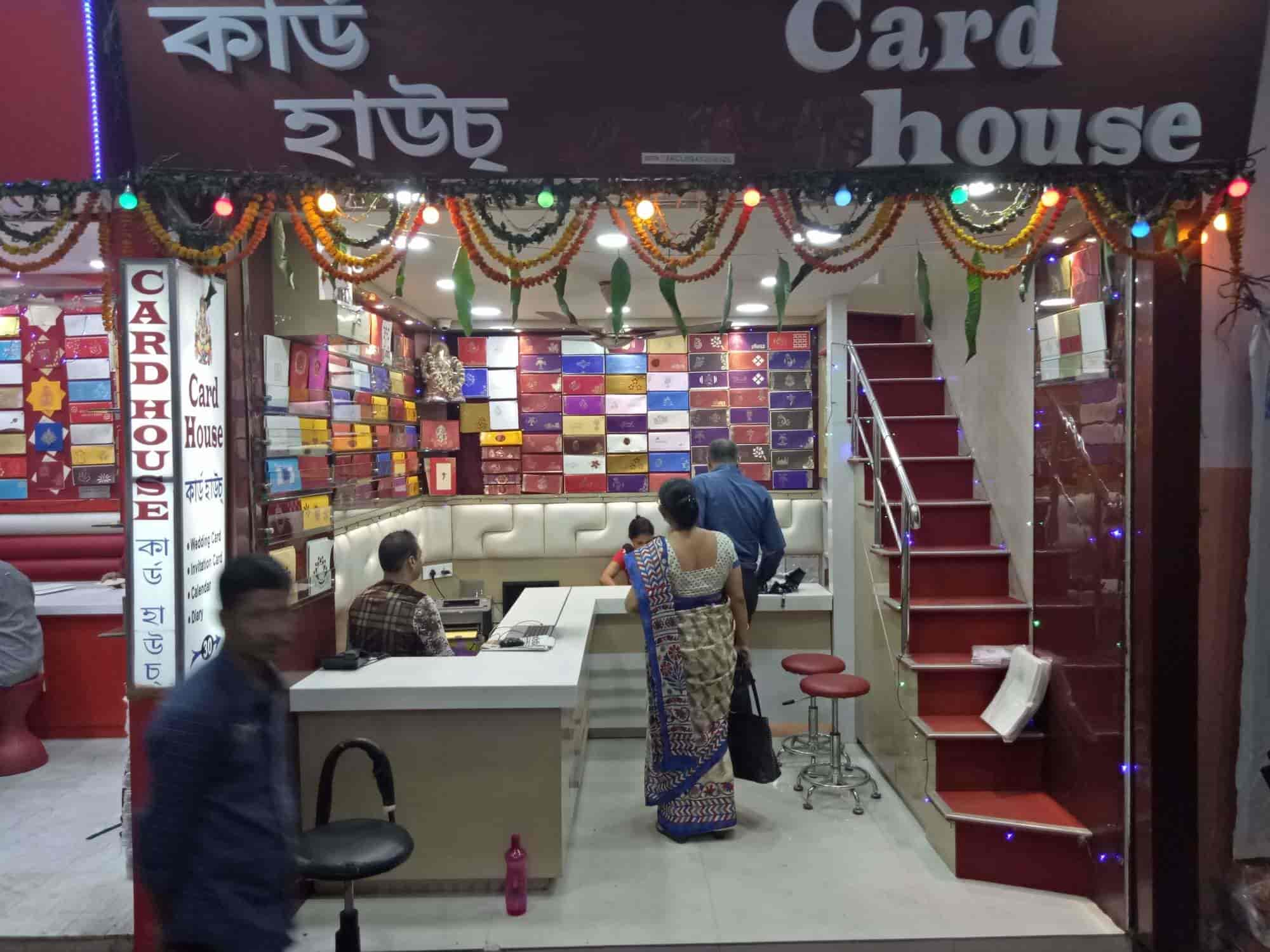 wedding cards in hyderabad general bazar%0A     Front view of Wedding Card Shop  Card House Photos  Fancy Bazar