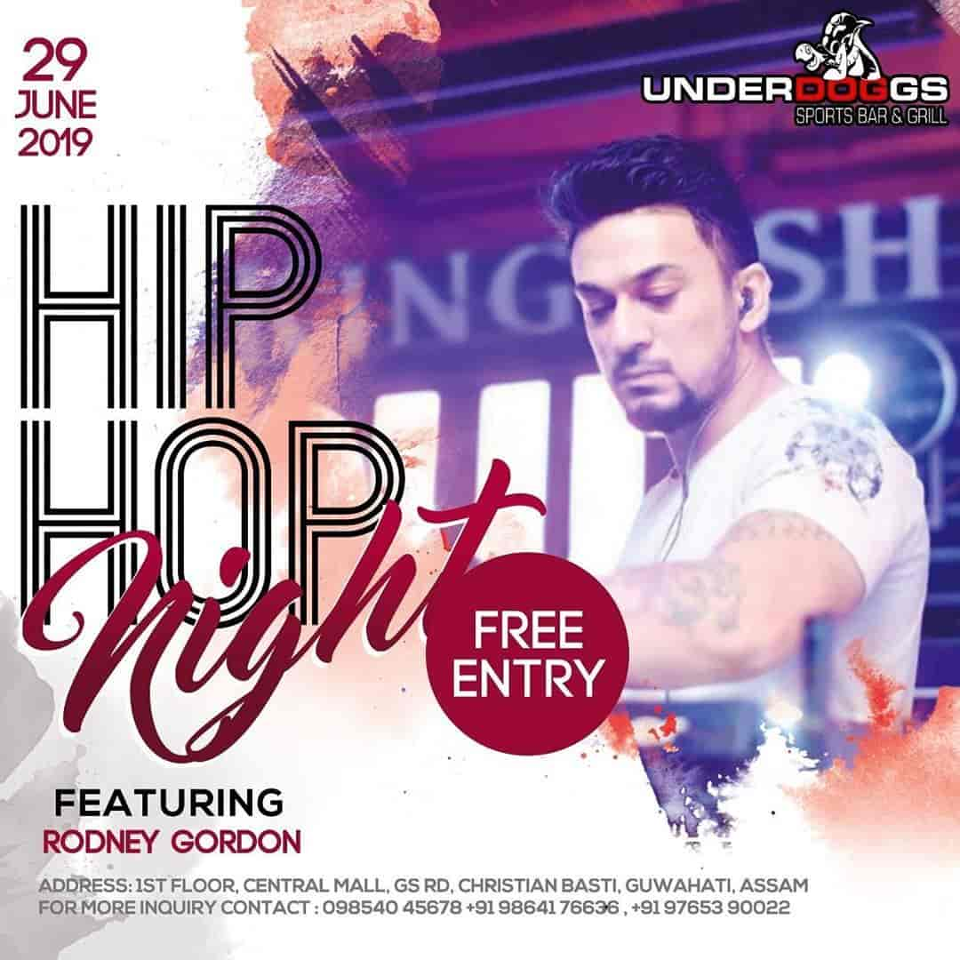 Underdoggs Sports Bar & Grill, G S Road, Guwahati - Live Sports