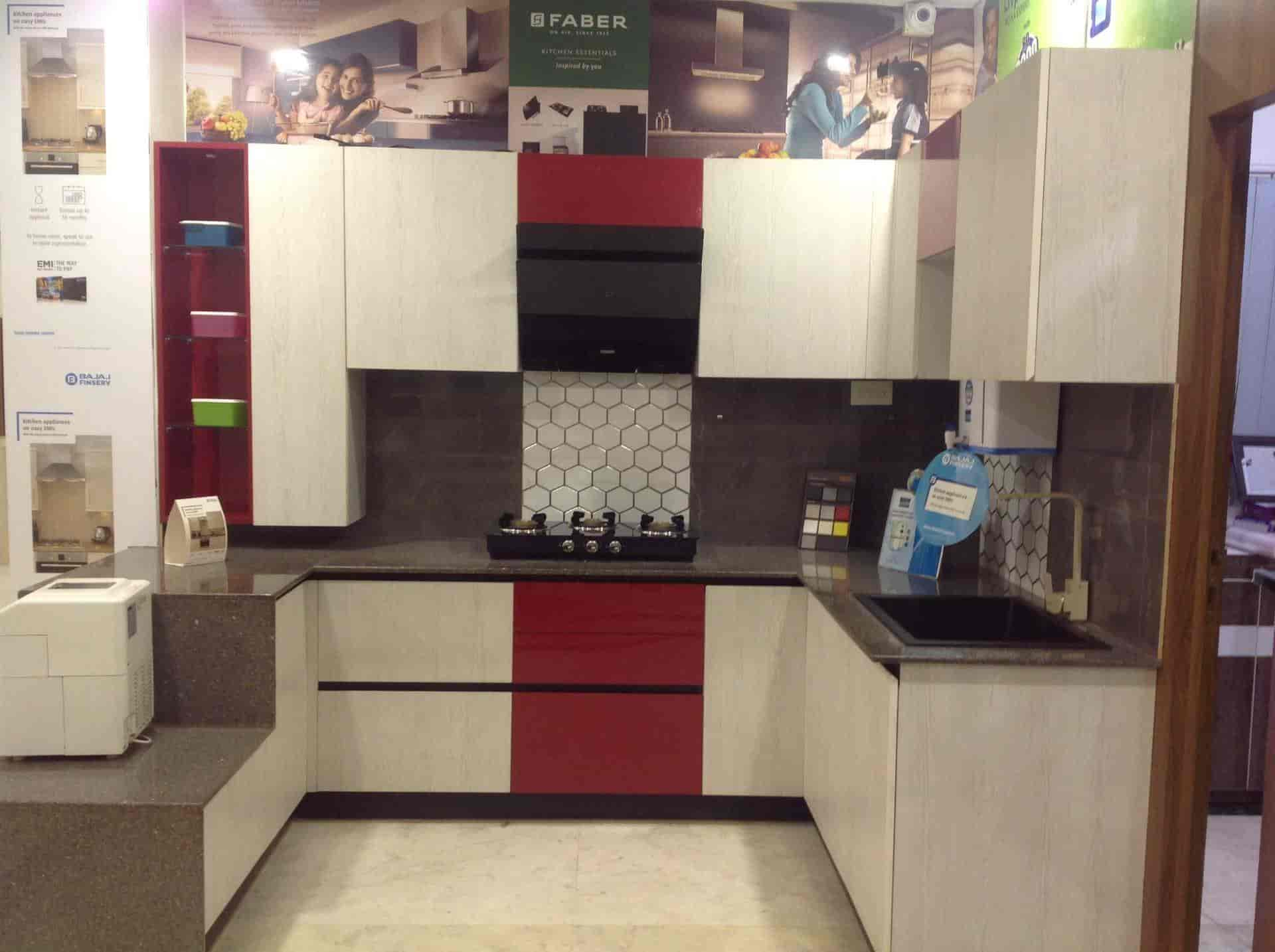 Kitchens And Interiors G S Road Modular Kitchen Dealers In