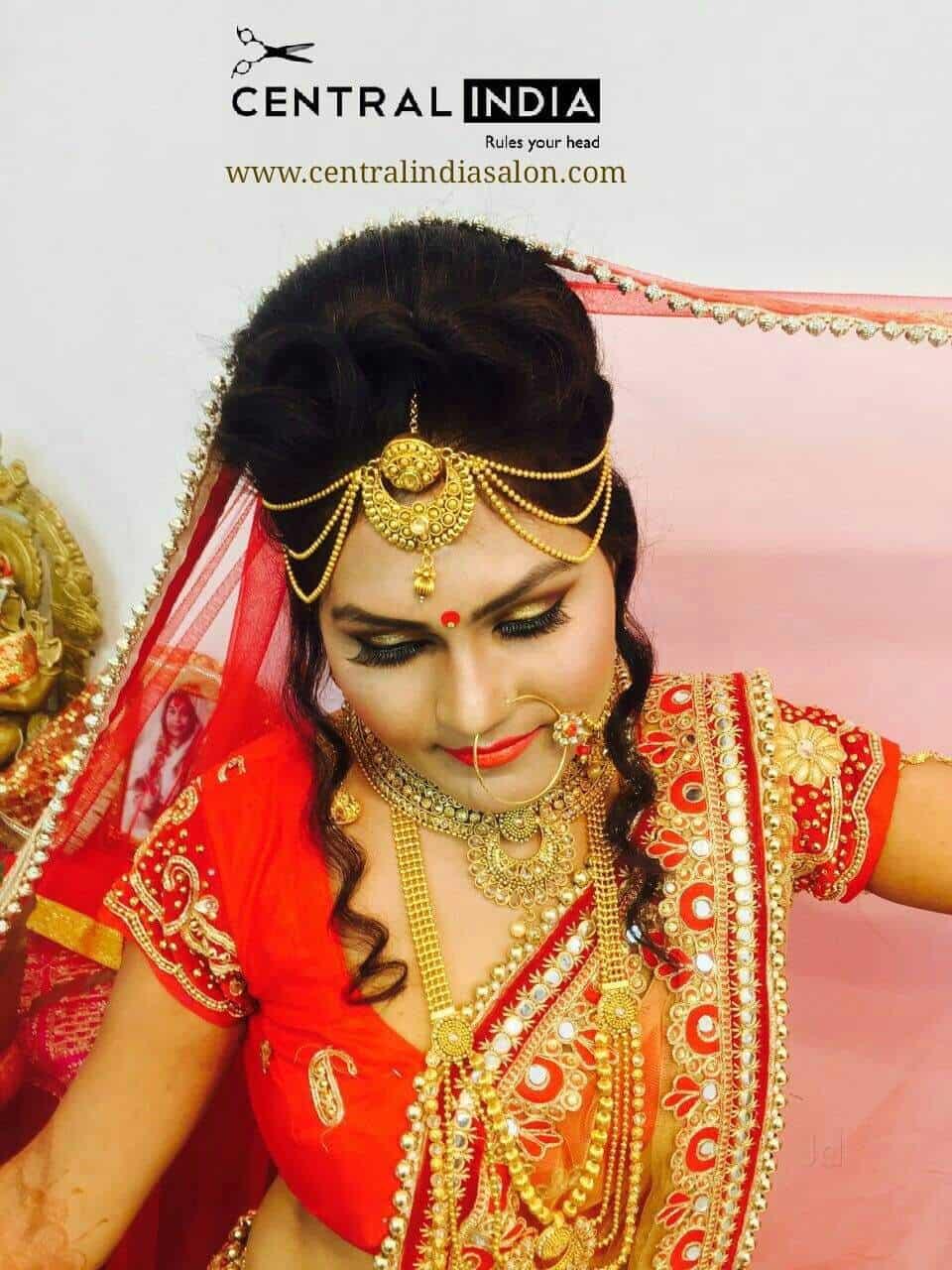 central india hair & beauty salon phool bagh, phool bagh