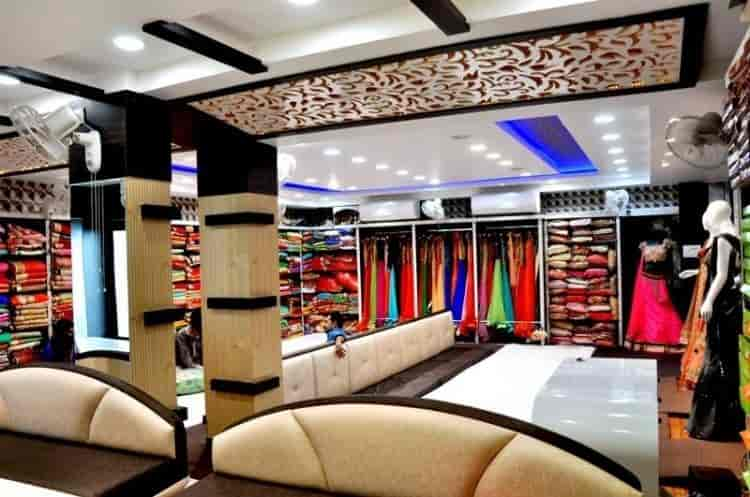 Garment Retailers Interior View Of Shop