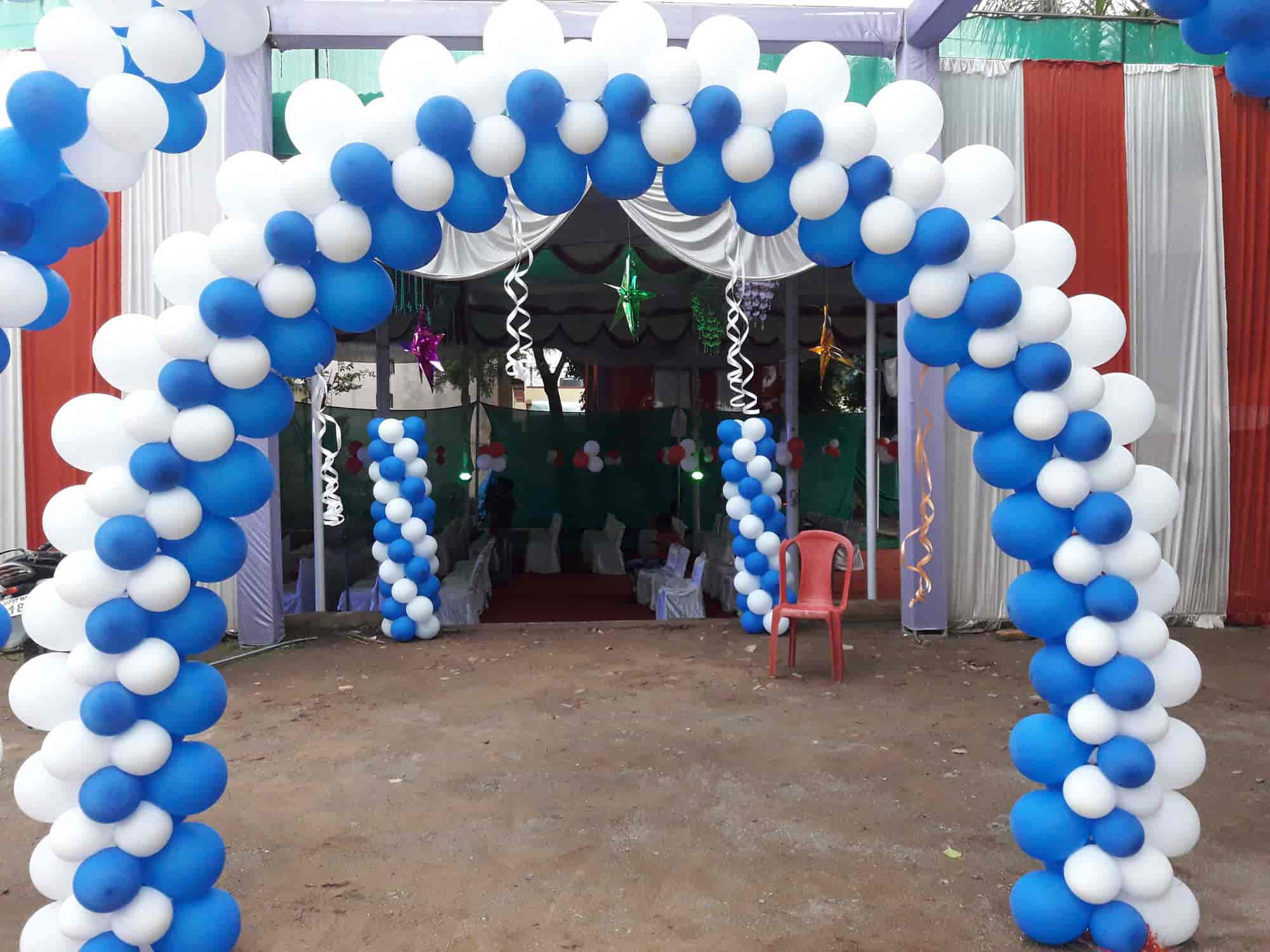 Dev Flower And Balloons Decorations Lashkar Balloon Decorators In