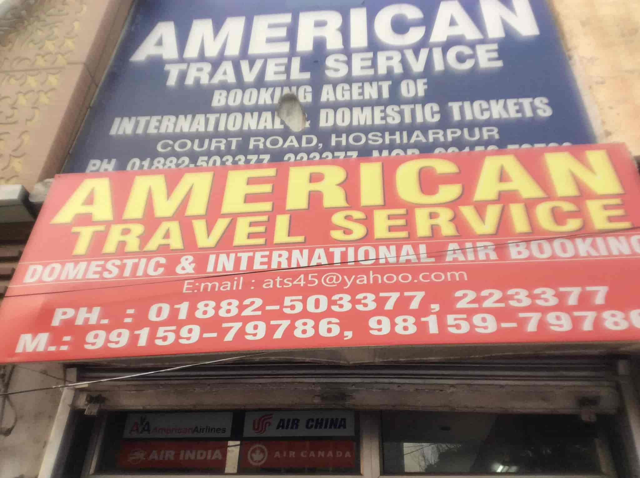 American Travel Service, Hoshiarpur Ho - Travel Agents in