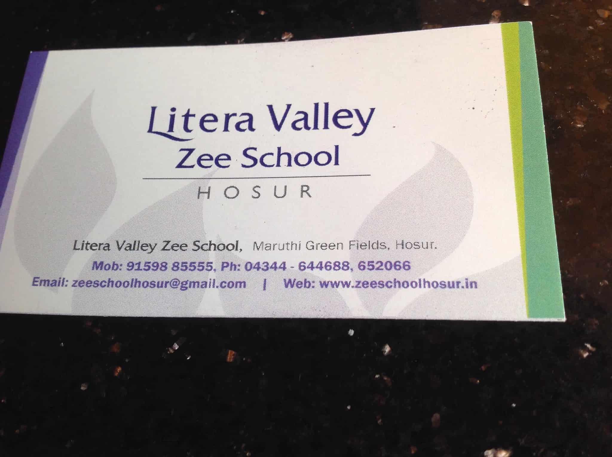Litera Valley Zee School Mount Litera Zee School Schools In