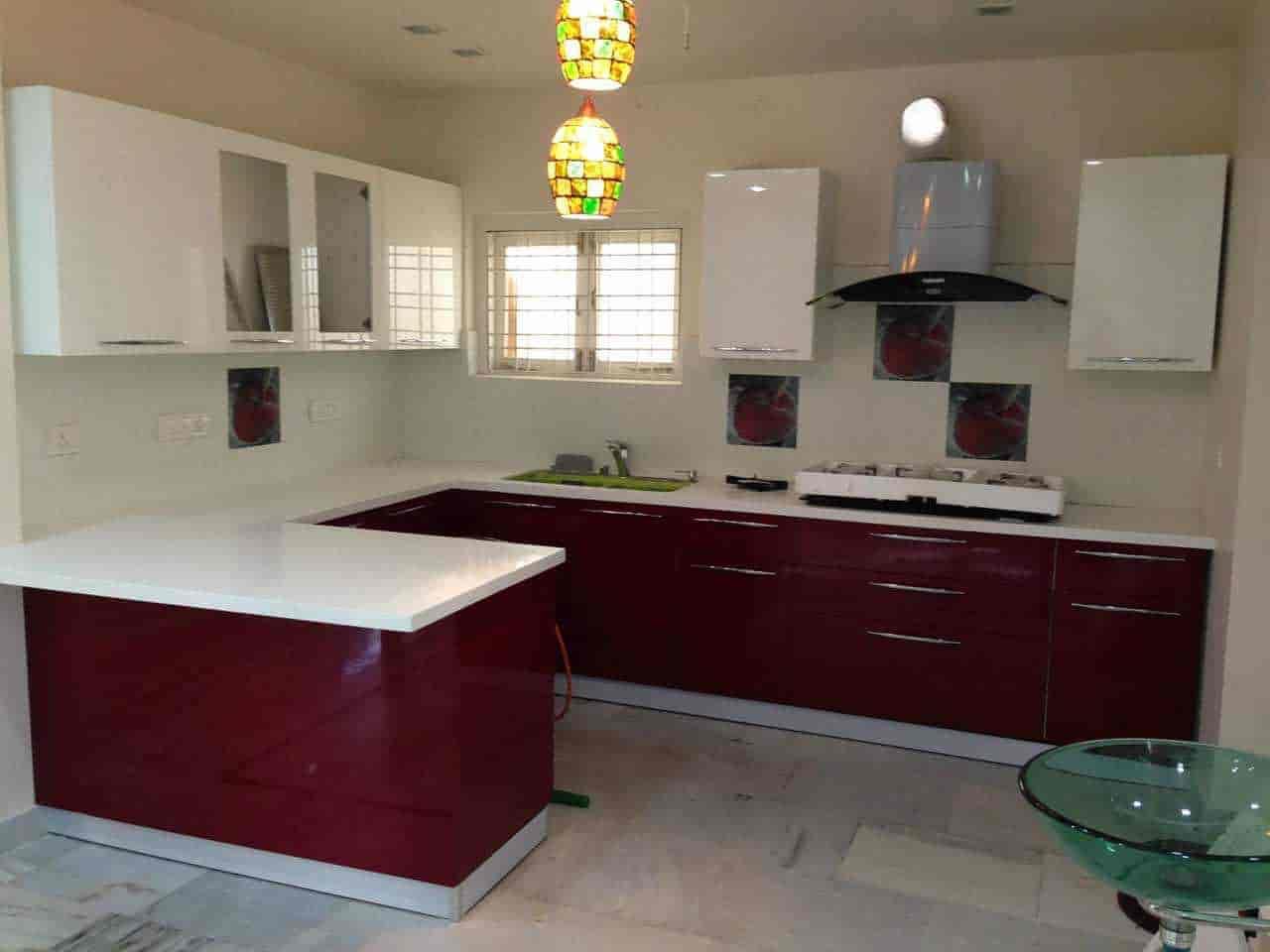 Modular Kitchen Home Interiors Photos Deshpandenagar Hubli Dealers