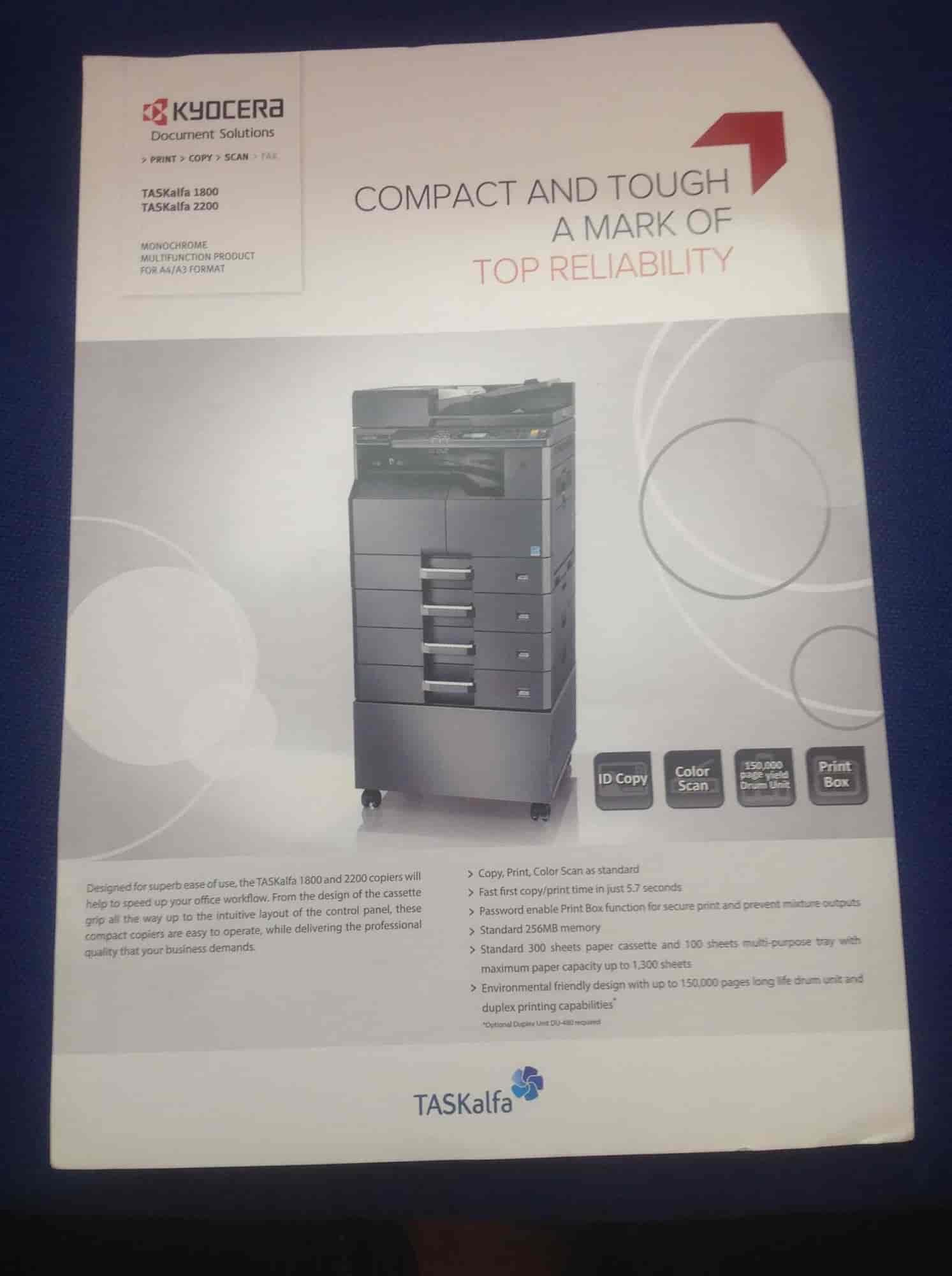 Total Office Solutions, Neeligin Road Hubli - Photocopier