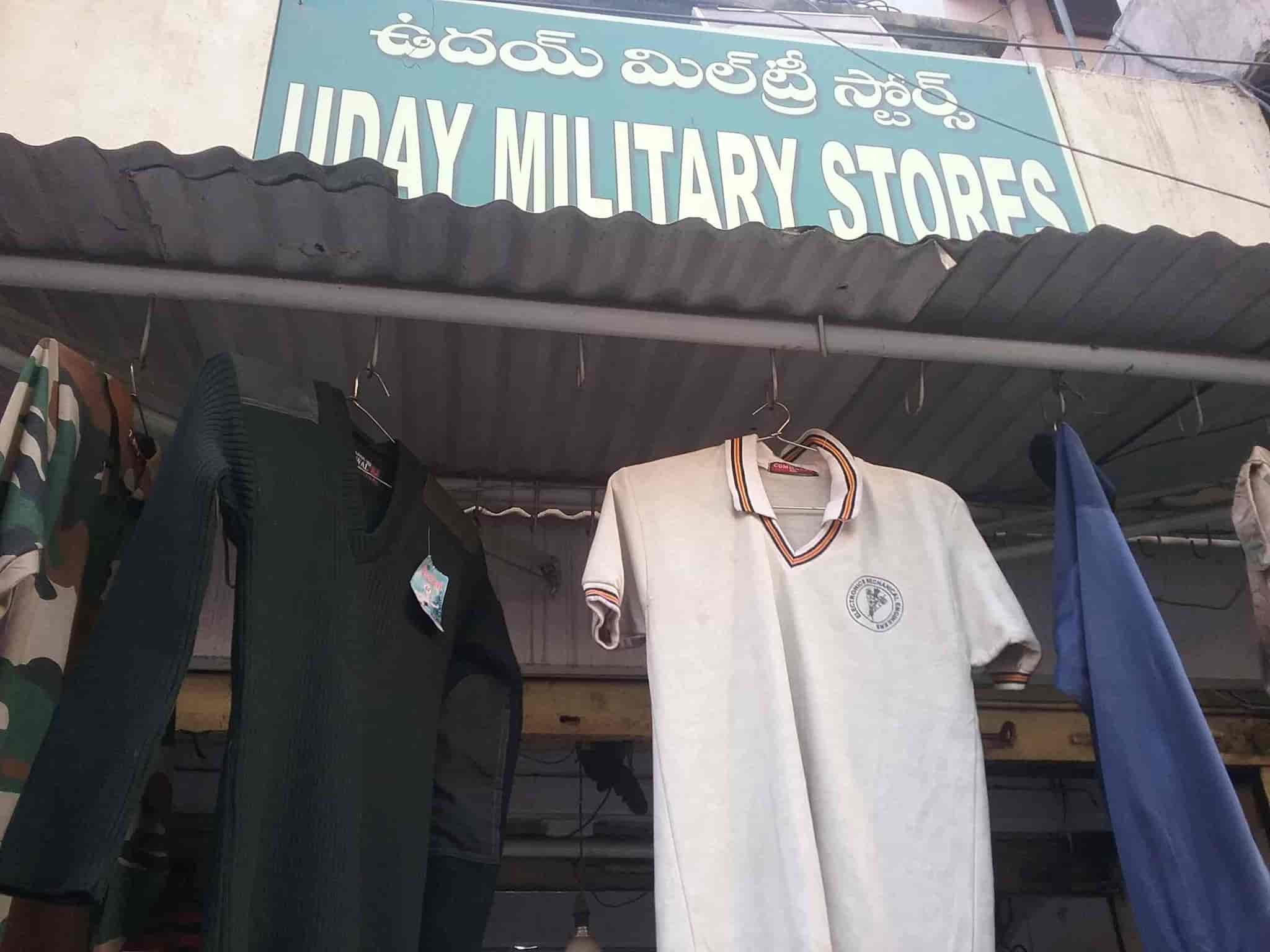 Uday Military Stores Photos, Lal Bazar, Hyderabad- Pictures & Images