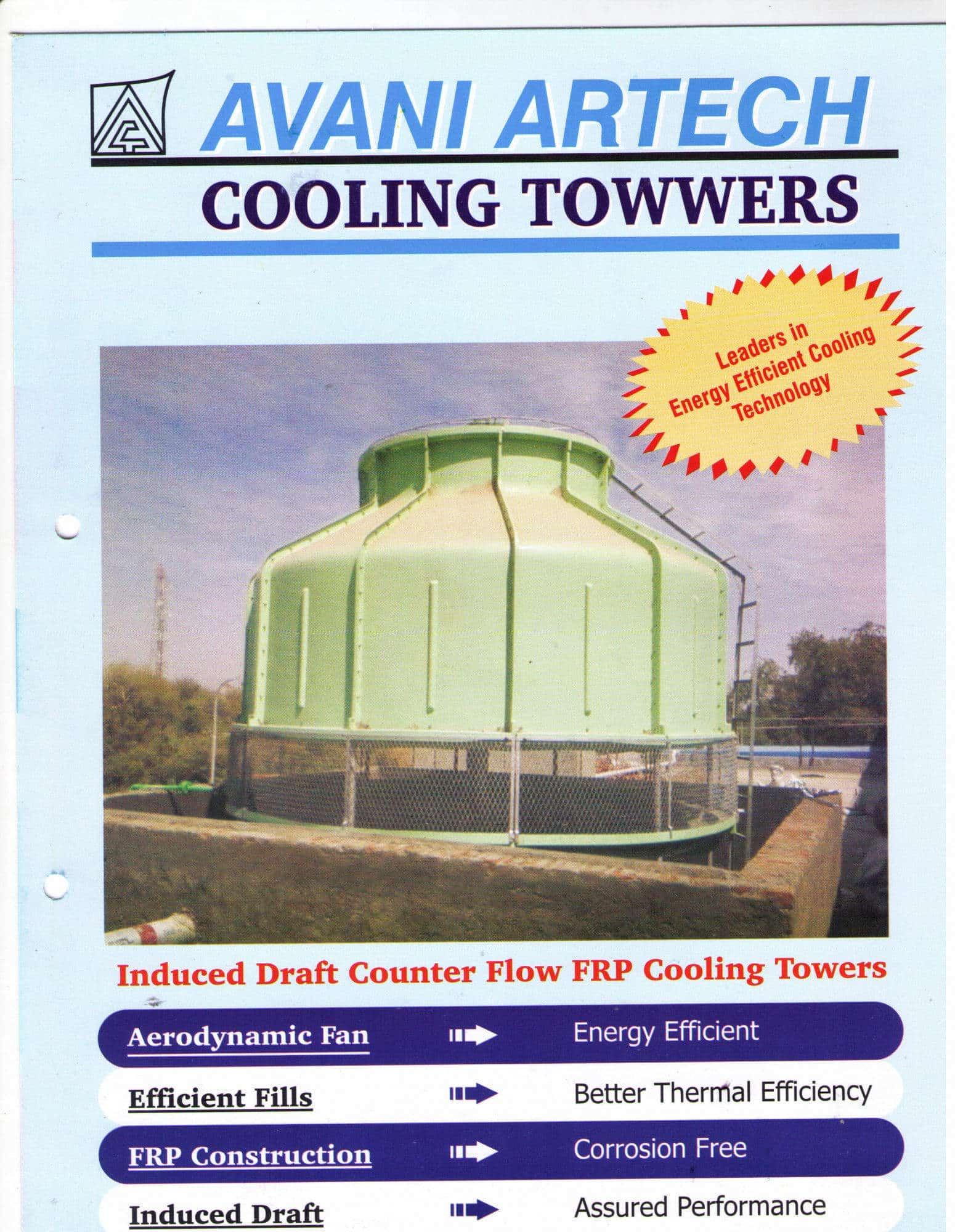 Avani Artech Cooling Towers Private Limited Photos, Jeedimetla