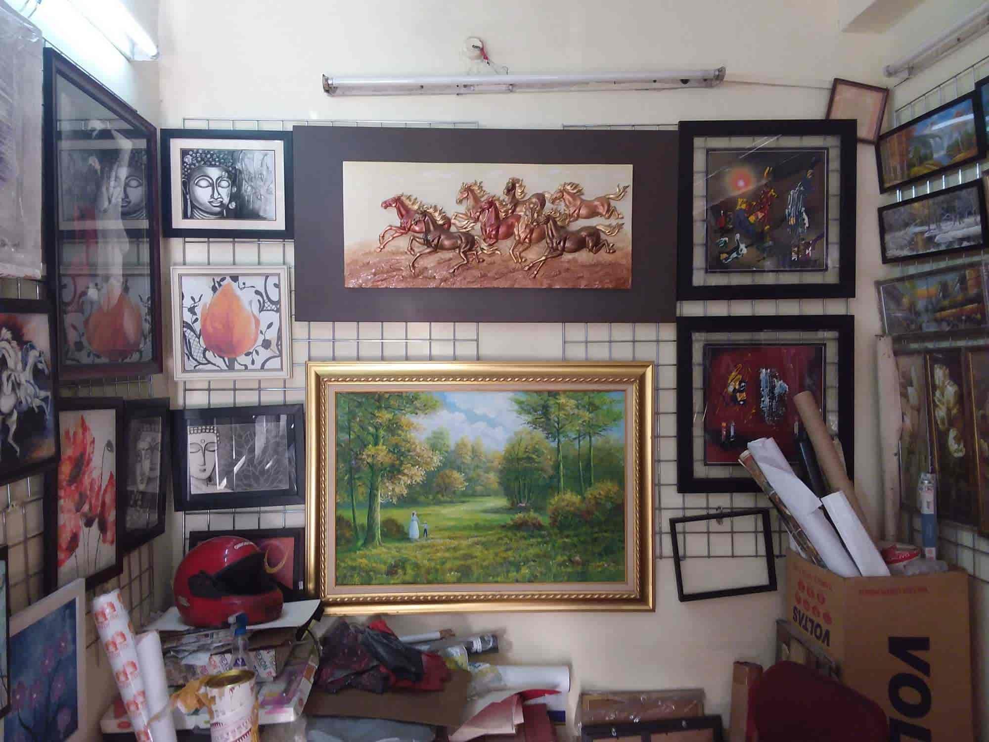 Inside view fine art photo frame gallery photos gachibowli hyderabad photo frame