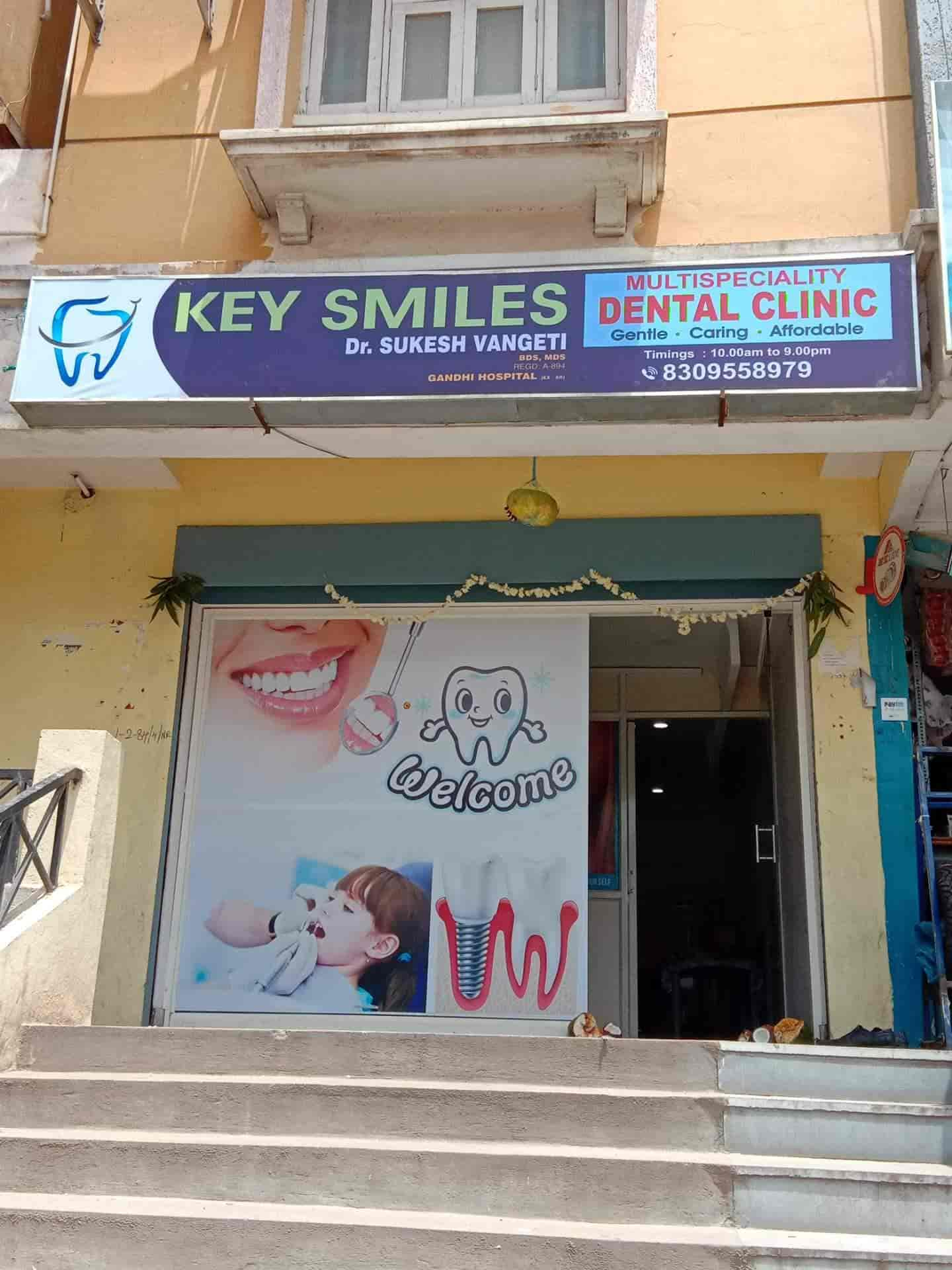 Key Smiles Multispeciality Dental Clinic Nagole Dentists In Ngk Whb Gandhi Hyderabad Justdial