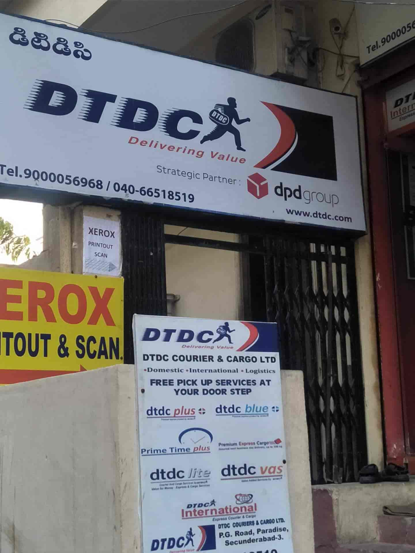 DTDC Express Ltd, Paradise - Courier Services in Hyderabad