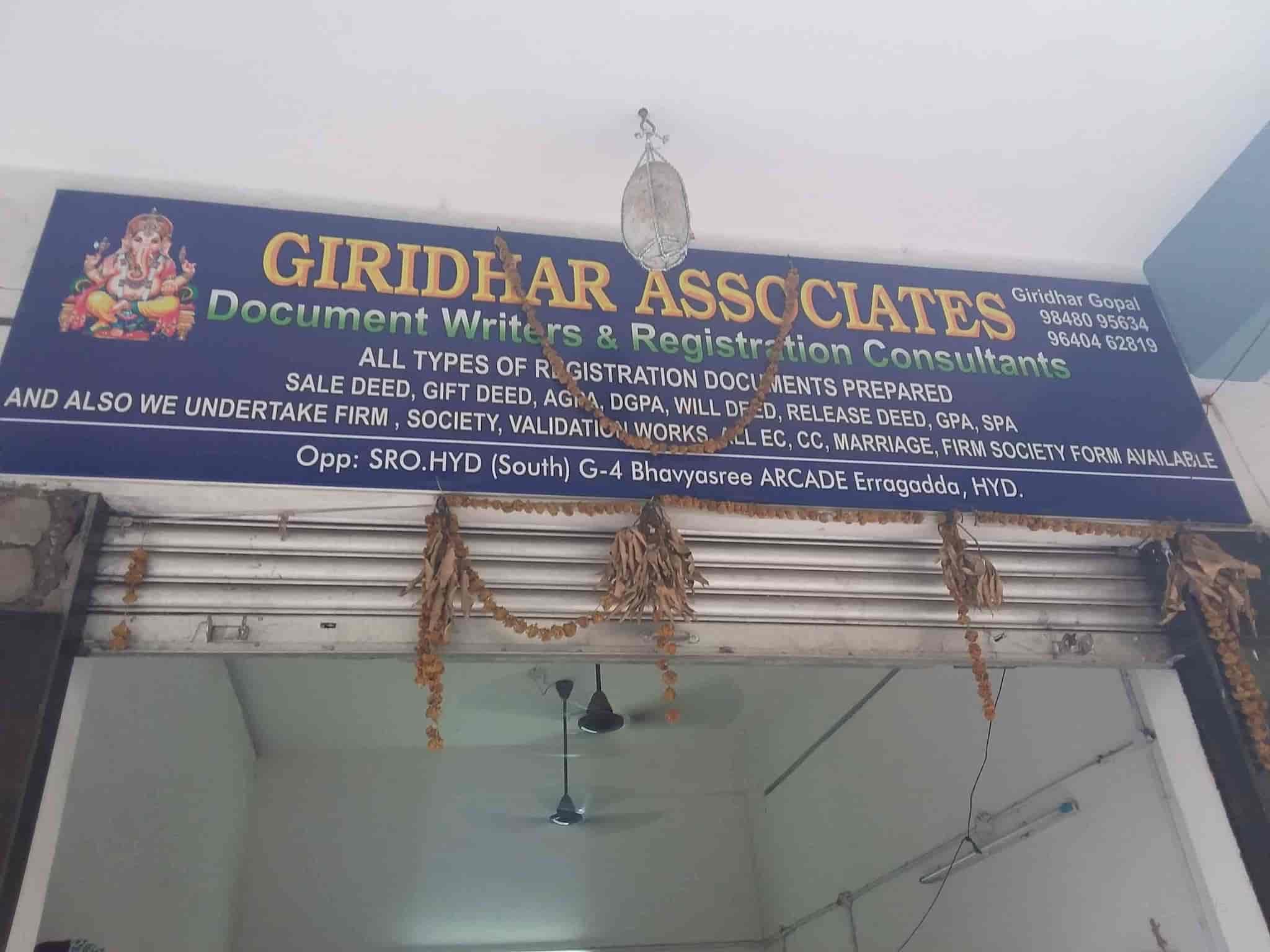 Deccan Chambers, Erragadda - Registration Document Writer in
