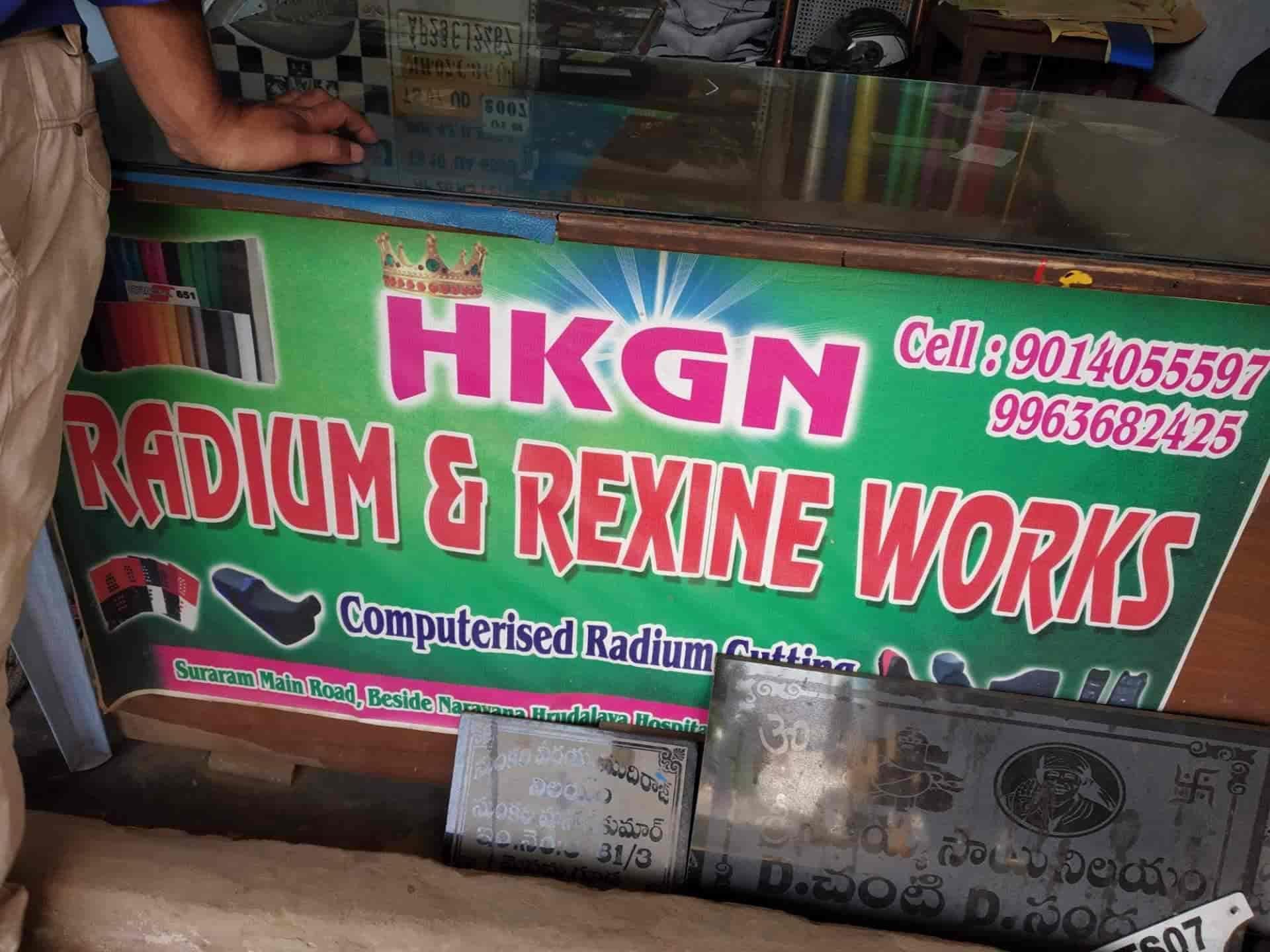 Hkgn Radium Rexine Works, Suraram - Radium Number Plate