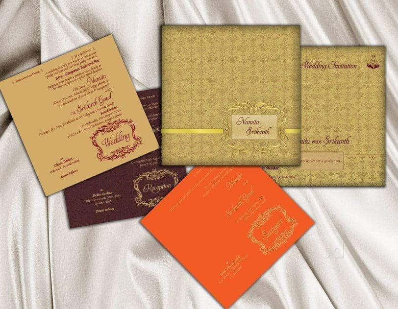 wedding cards in hyderabad general bazar%0A Gampa Brothers  Rashtrapati Road  Wedding Card Printers in Hyderabad   Justdial