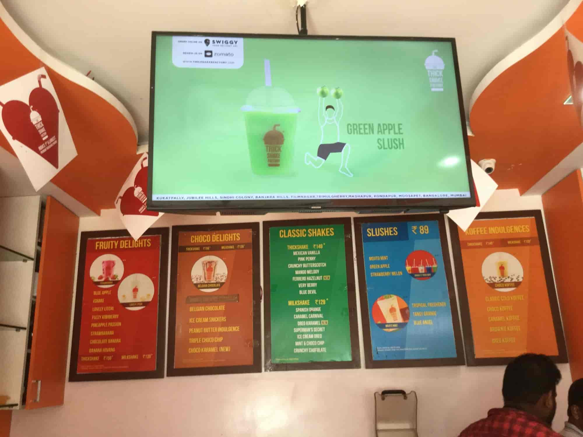 The Thick Shake Factory, Sindhi Colony-secunderabad, Hyderabad