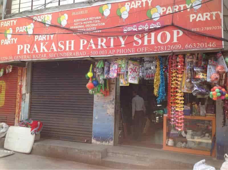 Prakash Party Shop Secunderabad Parkash Party
