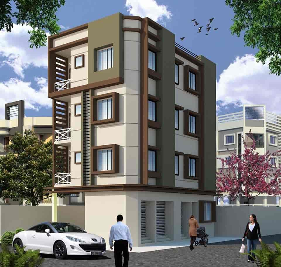 D Front Elevation Of Building : Home elevation designs in hyderabad review decor