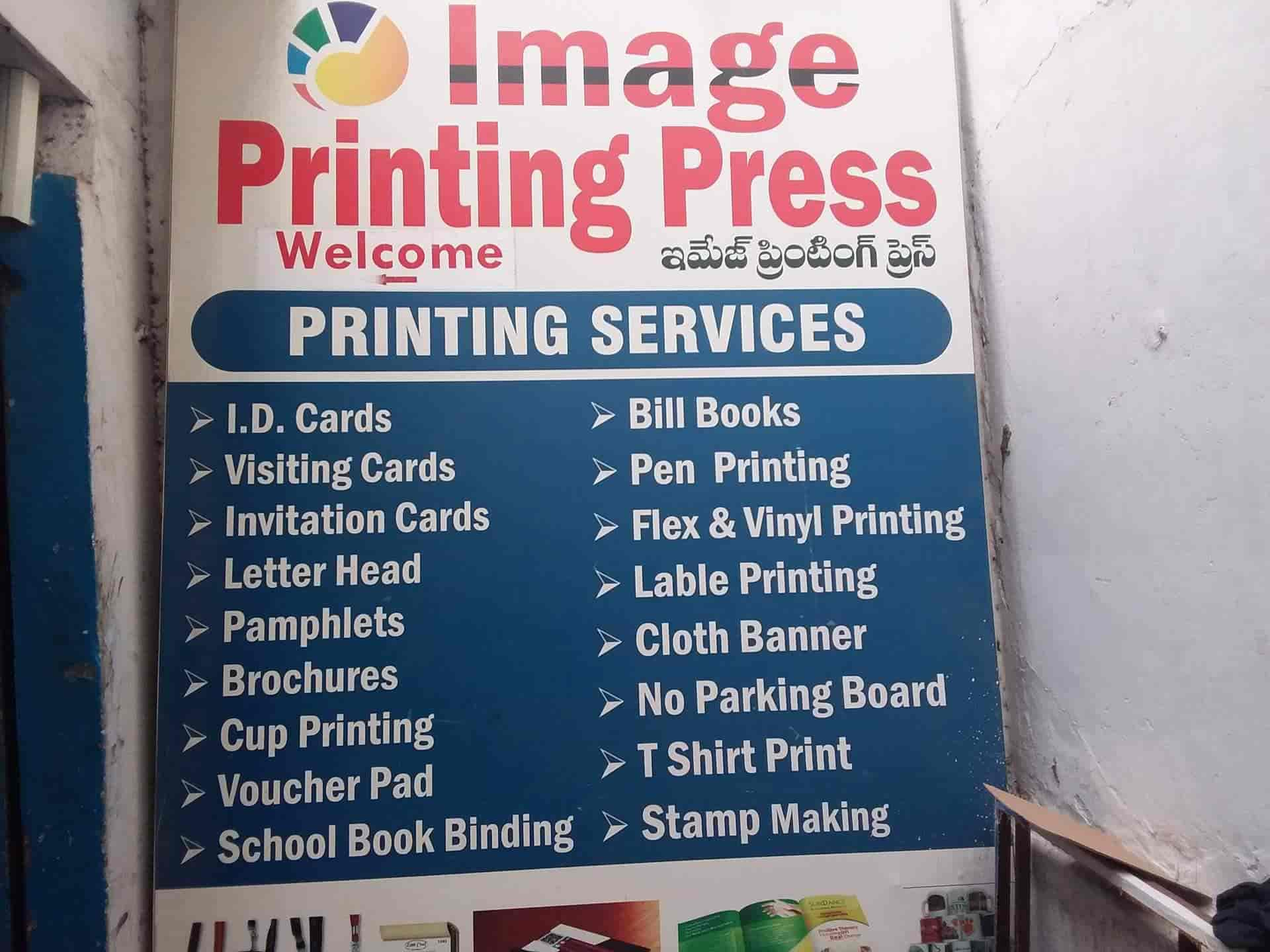 Image Printing Press Photos, Ameerpet, Hyderabad- Pictures