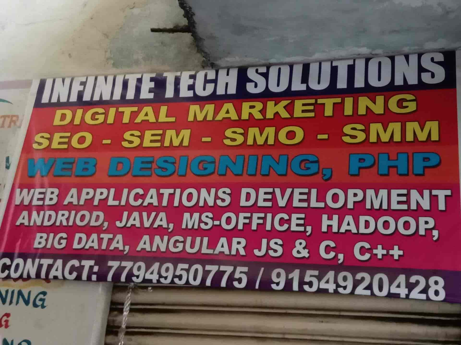 Infinite Tech Solutions Dilsukhnagar Computer Training Institutes In Hyderabad Justdial