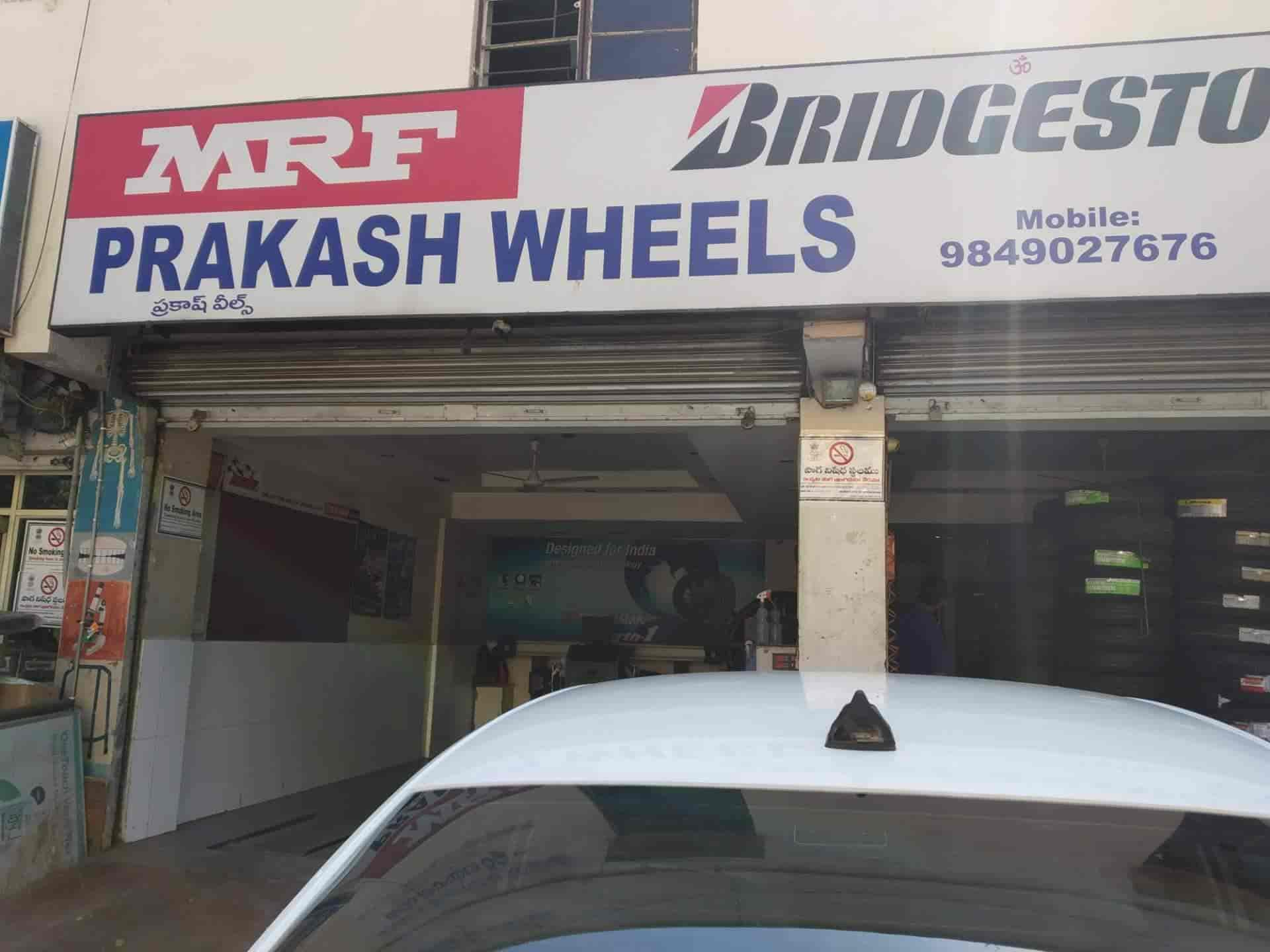 Prakash Tyres, Abids - Tyre Dealers-MRF in Hyderabad - Justdial