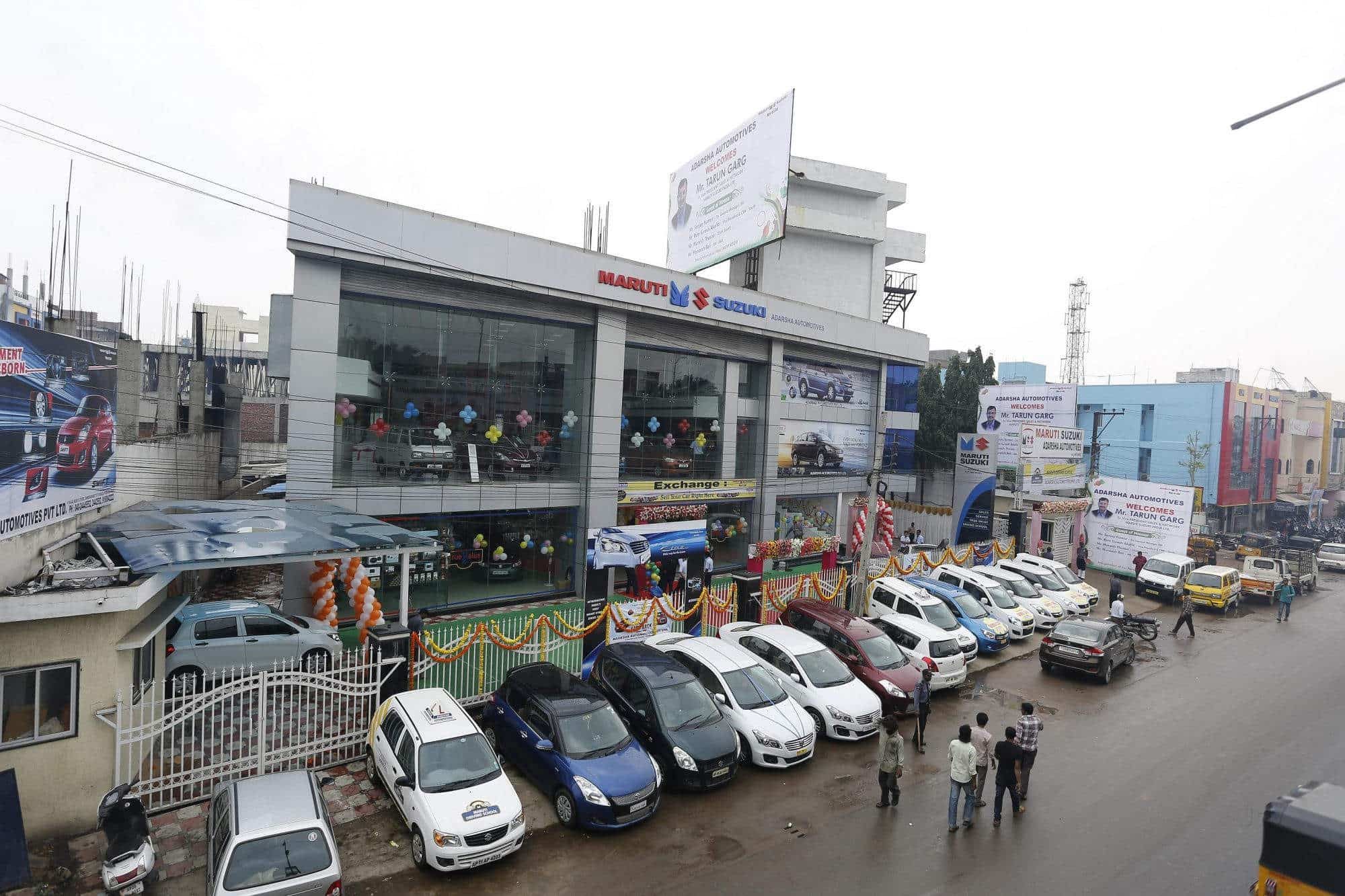 Adarsha Automotive Pvt Ltd Chandrayan Gutta Car Dealers Maruti