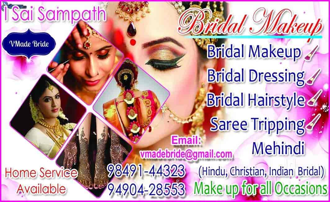 Vmade Bride Yousufguda Makeup Artists In Hyderabad Justdial