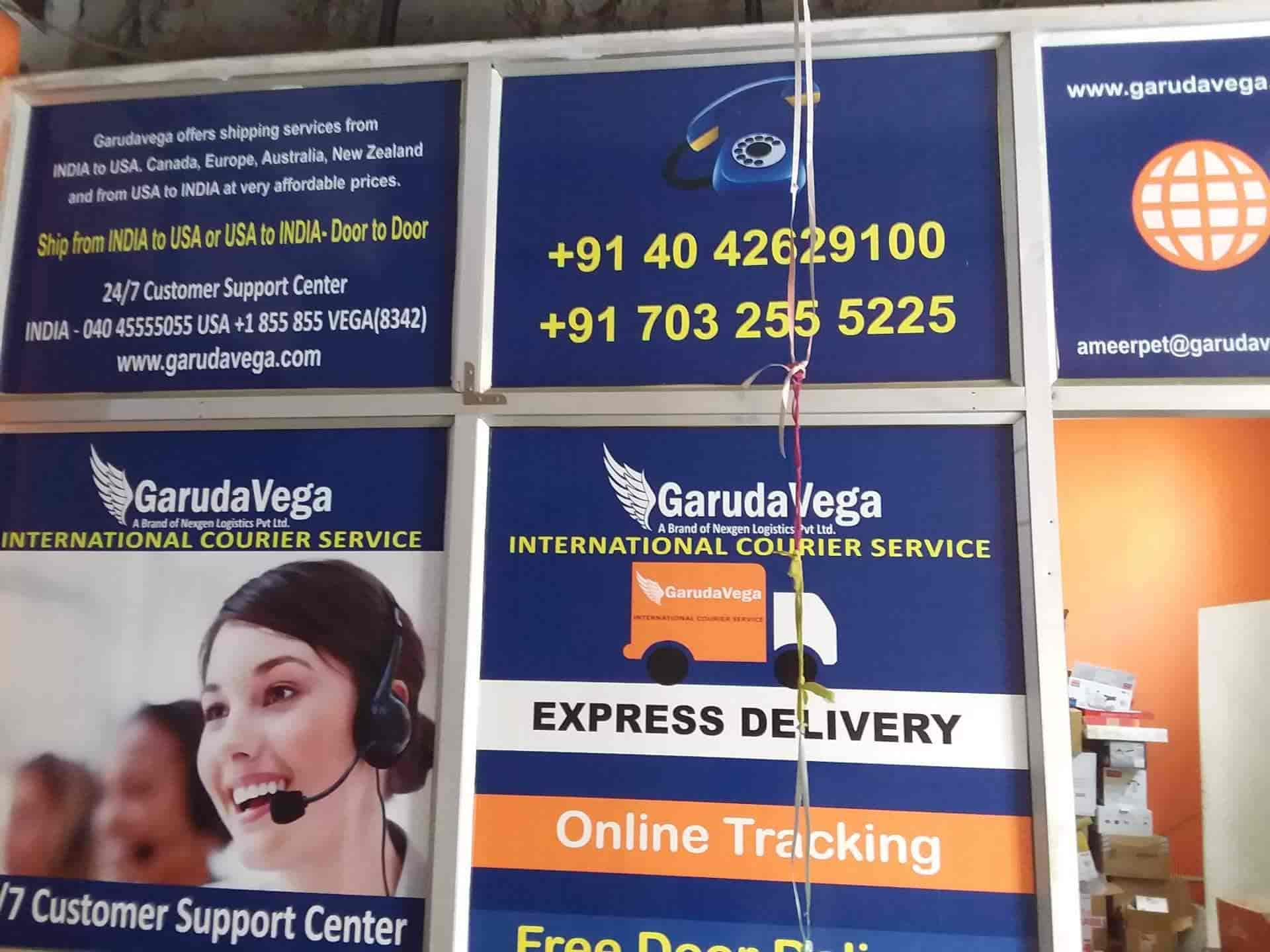 Garudavega Delivery Services Pvt Ltd, Ameerpet - Courier