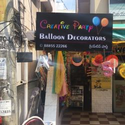 Creative Party Store, Sri Nagar Colony - Event Organisers in