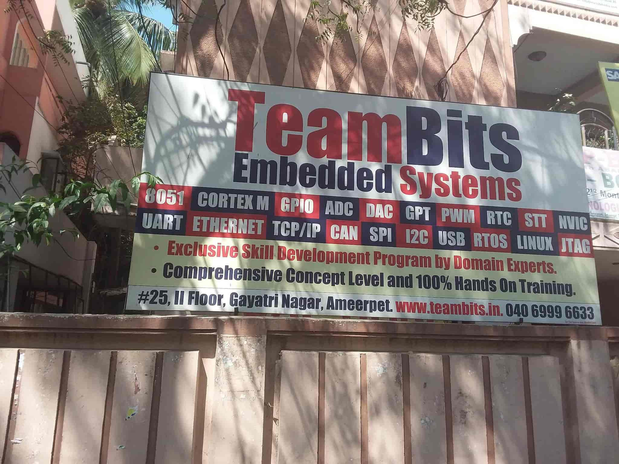 Teambits Embedded Systems, Ameerpet - Computer Training