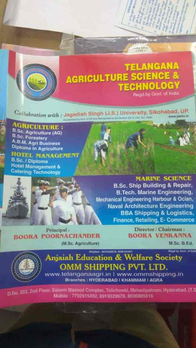 Telangana Agriculture Science & Technology, Mehdipatnam