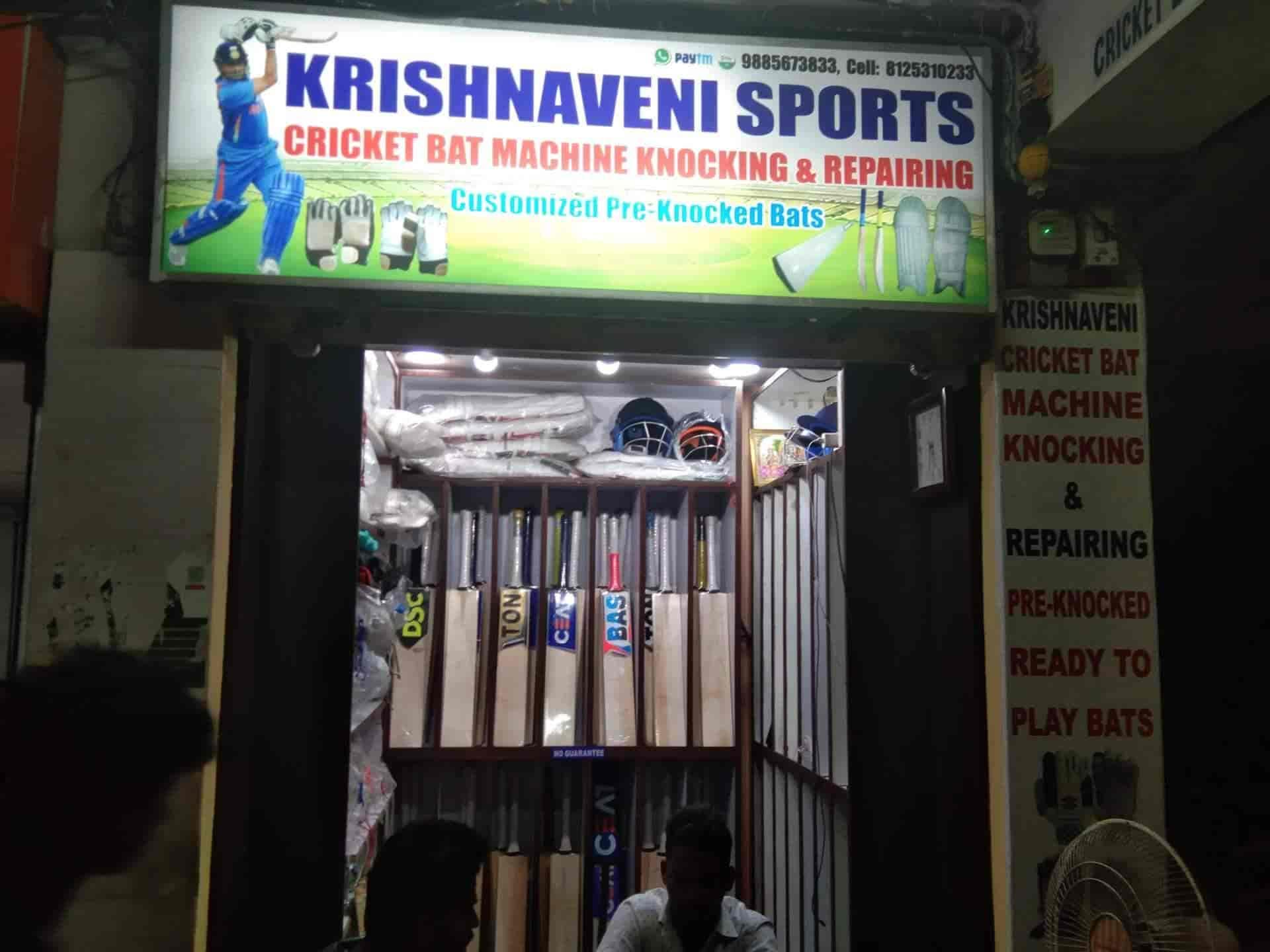 Krishnaveni Cricket Bats Machine Knocking And Repairing
