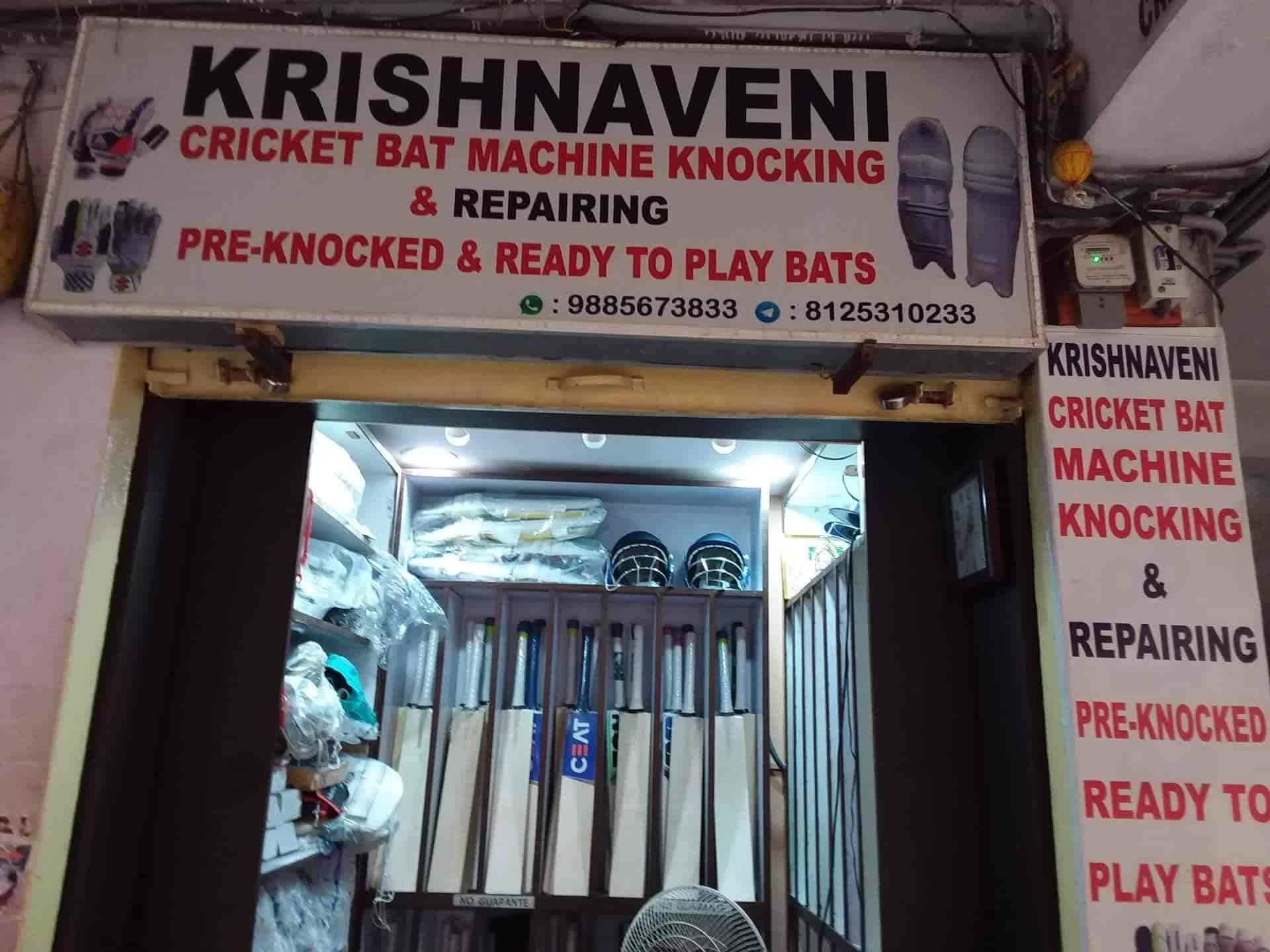 Krishnaveni Cricket Bats Machine Knocking And Repairing Secunderabad Ball Dealers In Hyderabad Justdial