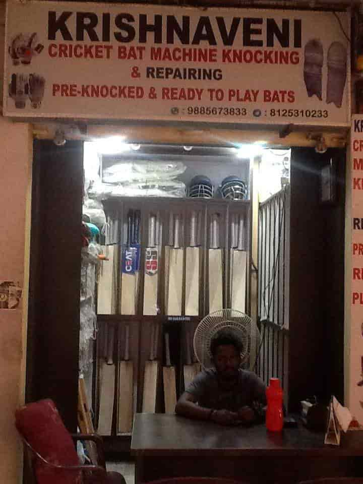 Krishnaveni Cricket Bats Machine Knocking And Repairing Secunderabad Ball Dealers In Hyderabad Justdial