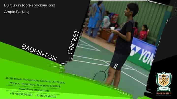 Classes In Badminton Sports Justdial Hyderabad HubMiyapur Elite rxtCsdhQ
