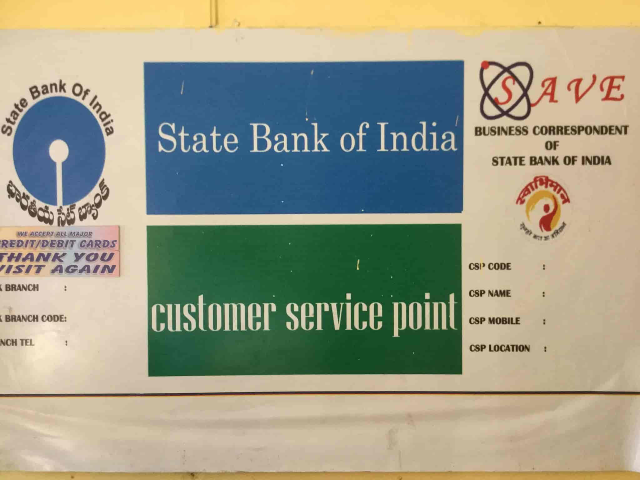 SBI Customer Service Point Photos, Malkajgiri, Hyderabad- Pictures