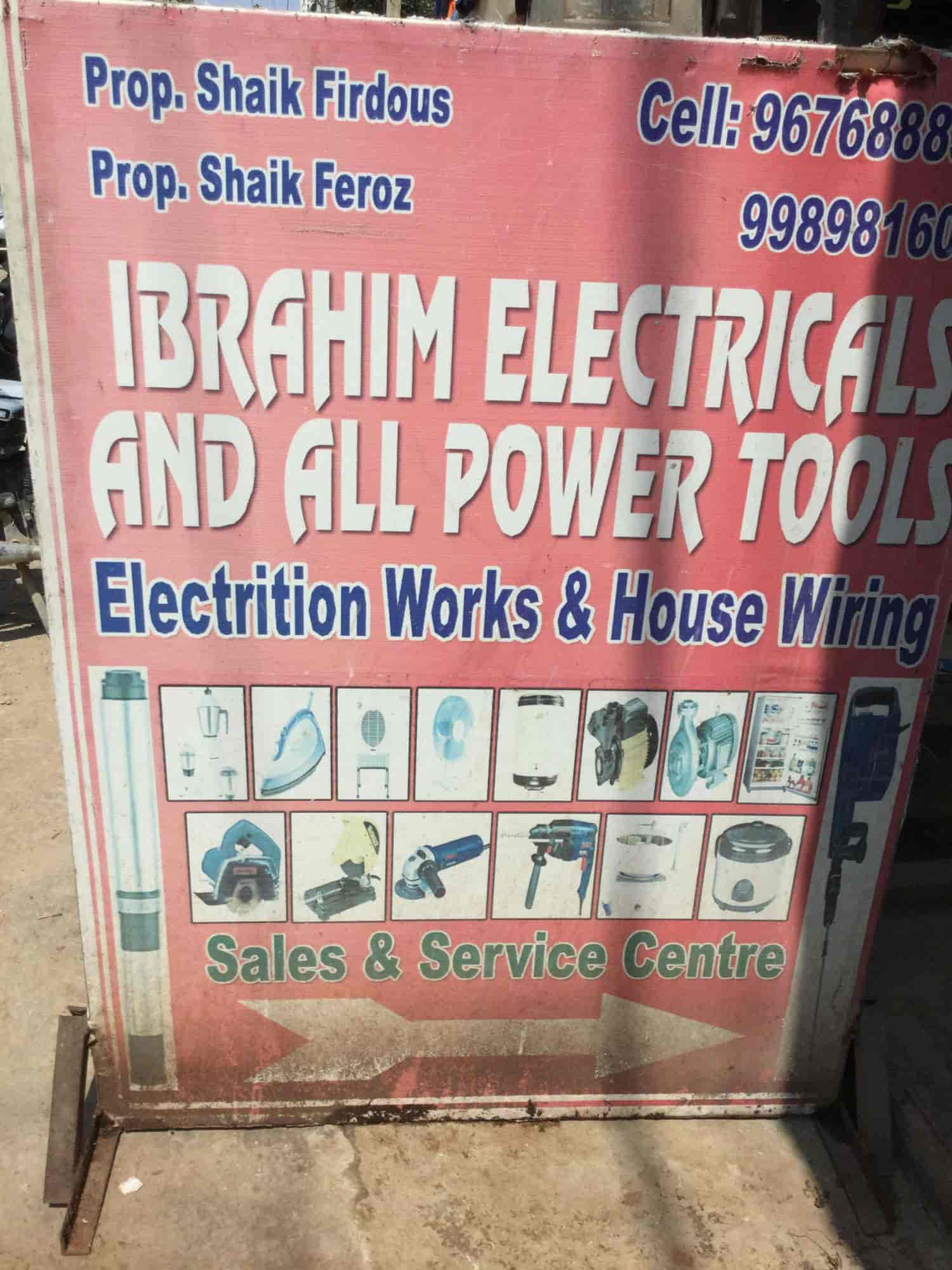 Ibrahim Electrical Power Tools Photos Kphb Colony Hyderabad House Wiring Motor Repair Services