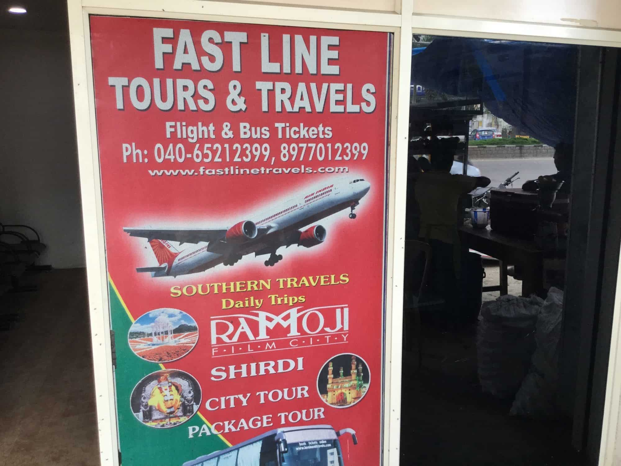 Fast Line Tour Travels, Kondapur - Travel Agents in