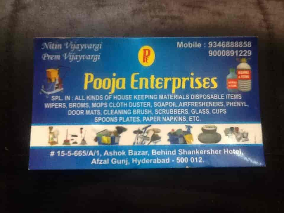 Pooja Enterprises Photos, Afzal Gunj, Hyderabad- Pictures & Images