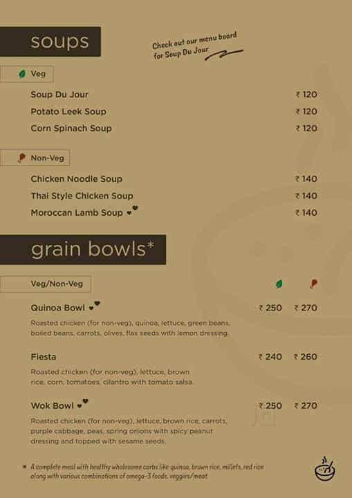Soups N Salads Restaurant, Jubilee Hills, Hyderabad - Diet