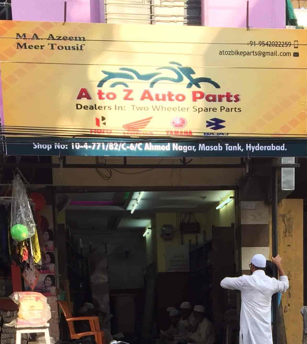 A To Z Auto Parts >> A To Z Auto Parts Ahmed Nagar Automobile Part Dealers In