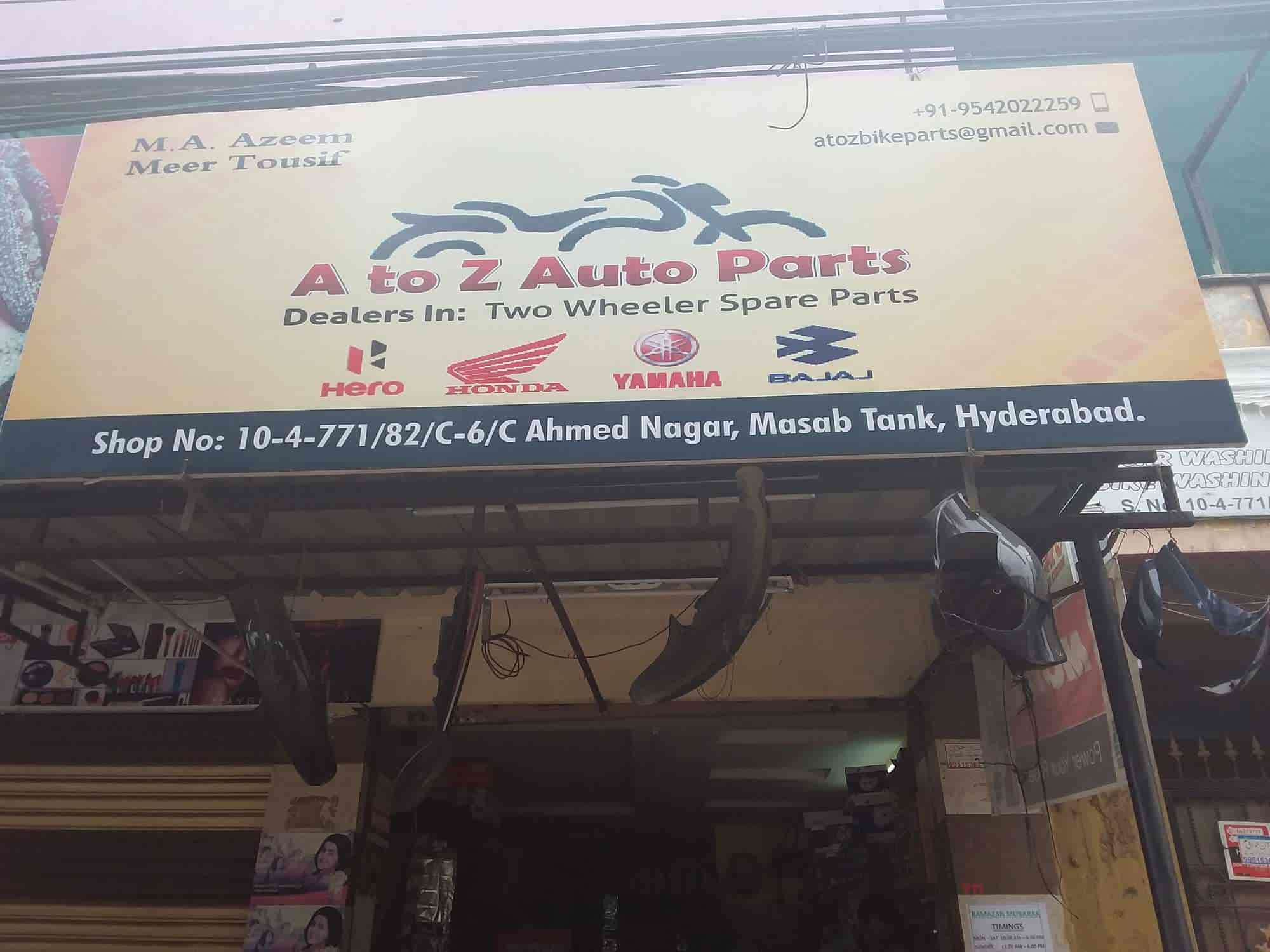 A To Z Car Parts >> A To Z Auto Parts Photos Ahmed Nagar Hyderabad Pictures Images