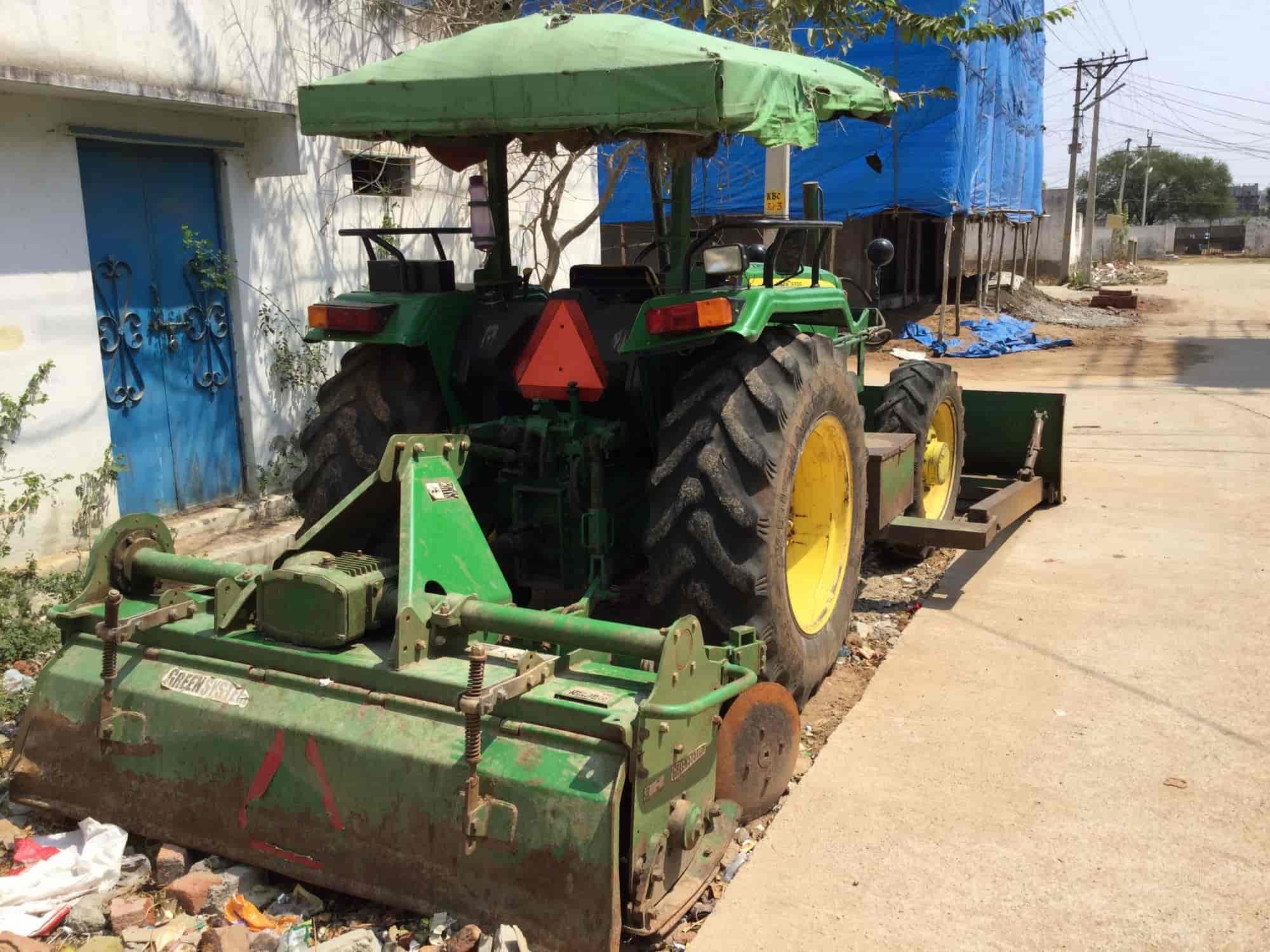 Malikarjuna Tractor Dozer Work, Indira Nagar-Tellapur - Tractors On