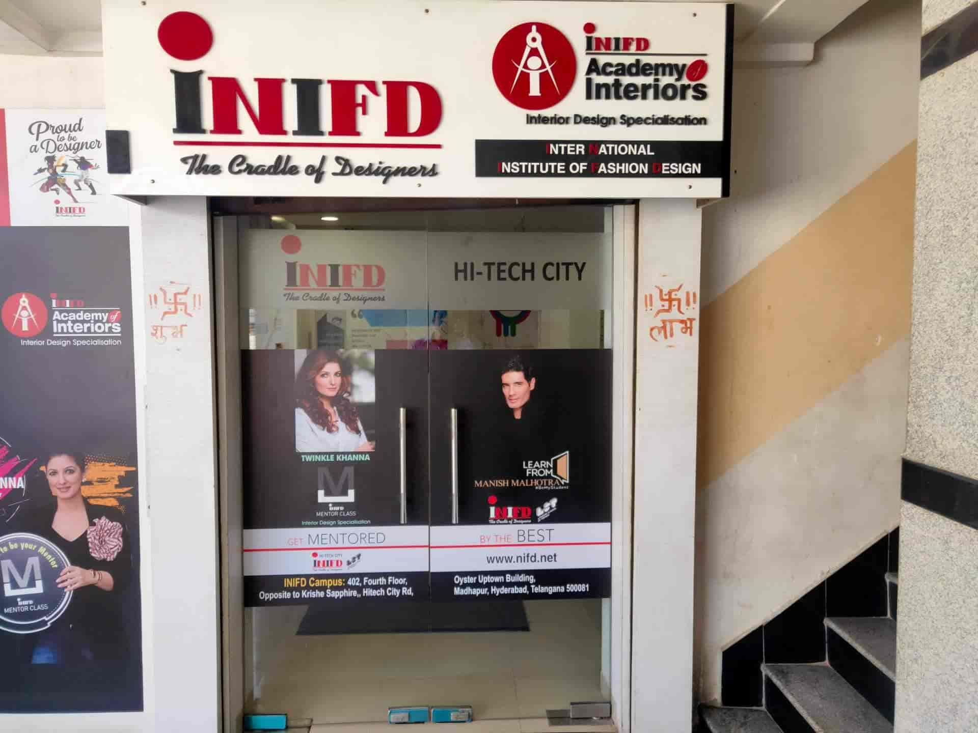 Inifd Hitech City Madhapur Fashion Designing Institutes In Hyderabad Justdial