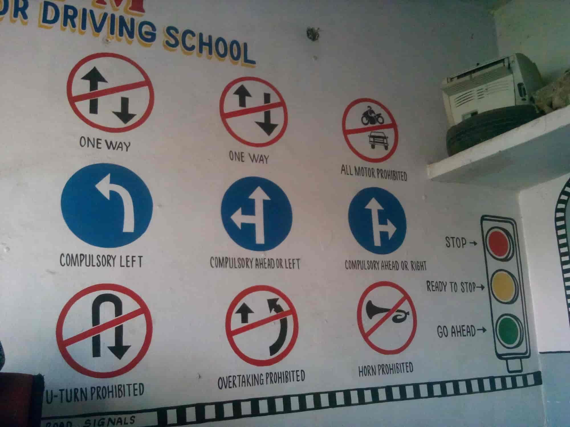 F M Motor Driving School s Rajendra Nagar Hyderabad