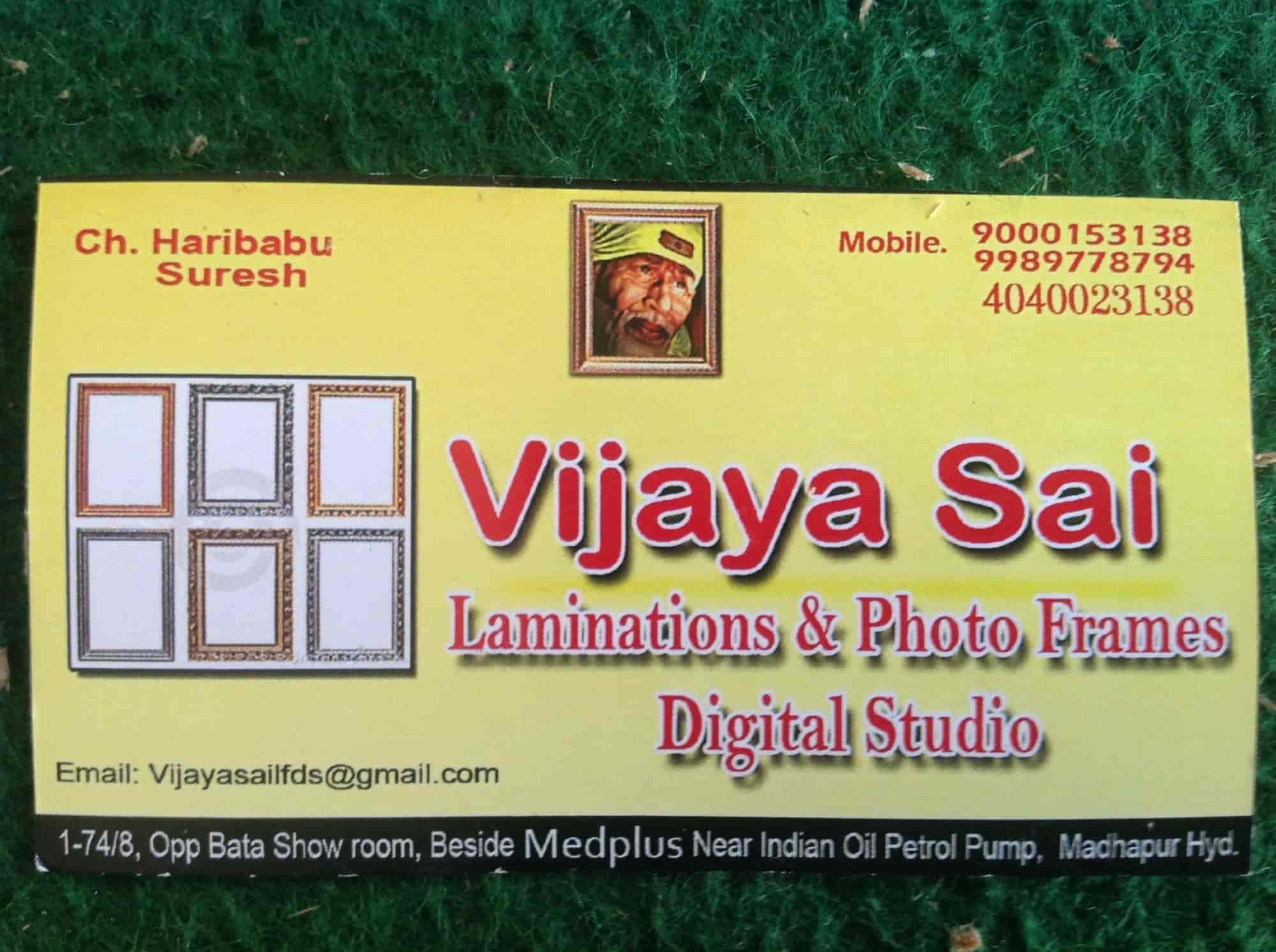 Vijaya sai photo frames and lamination digital studio madhapur vijaya sai photo frames and lamination digital studio madhapur vijaya sai photo frames lamination digital studio photo studios in hyderabad jeuxipadfo Choice Image